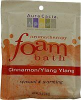 Aura Cacia Foam Bath - Sensual Cinnamon and Ylang Ylang 2.5