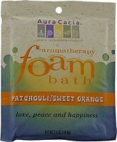 Patchouli Sweet Orange Foam Bath 6 PAK