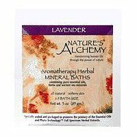 NATURE'S ALCHEMY Aromatherapy Bath Lavender 1 OZ