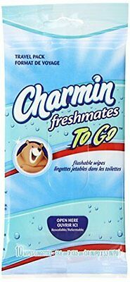 Charmin To Go Freshmates Cloths - 10 Each (case of 24)