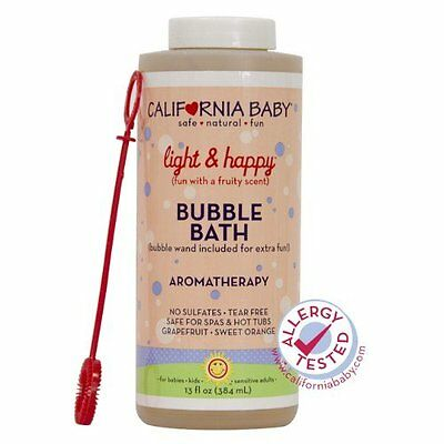 California Baby Light and Happy Aromatherapy Bubble Bath 13