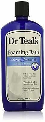 Dr. Teal's Foaming Milk Bath with Milk and Honey, 34 Fluid O