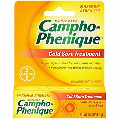 Campho-phenique Cold Sore Treatment , 0.23 Ounce-Packing May