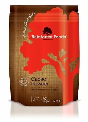 Rainforest Foods Organic Peruvian Cacao Powder 250g