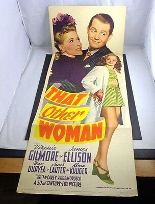 *        That other WOMAN-VIRGINIA GILMORE-JAMES ELLISON INSERT Movie Poster--