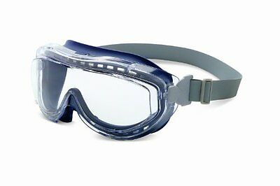 Uvex S3400X Flex Seal Safety Goggles, Navy Body, Clear Uvextreme Anti-Fog L