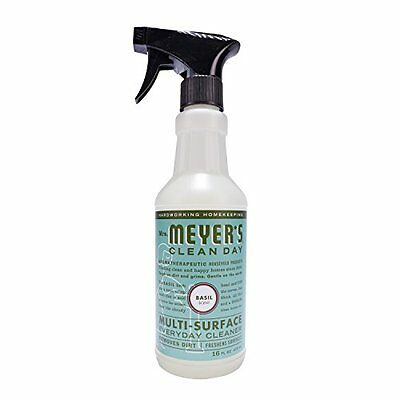 Mrs. Meyer's Clean Day Multi-Surface Everyday Cleaner, Basil 16 Fluid Ounce
