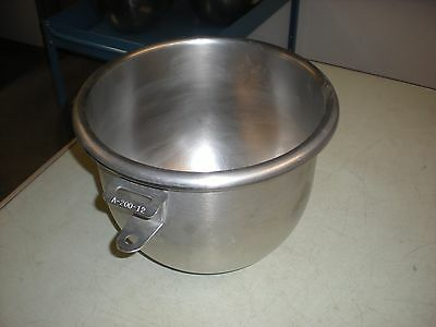 Hobart A-200-12 Stainless Steel Bowl