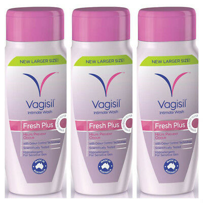 Vagisil Fresh Plus Intimate Wash Feminine Wash 240ml X 3 Buy Deal