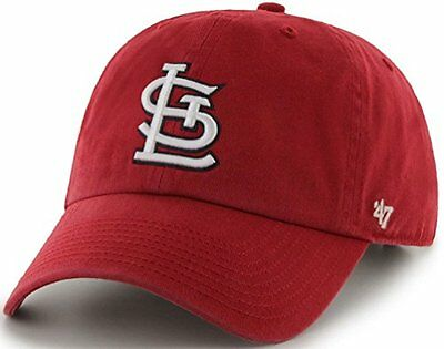 St. Louis Cardinals Clean Up Adjustable Cap (Cardinal Red)