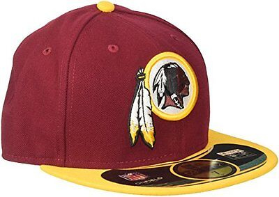 NFL Washington Redskins On Field 5950 Game Cap, Burgundy, 7