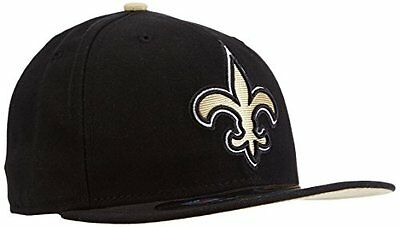 NFL New Orleans Saints On Field 5950 Game Cap, 7 3/8