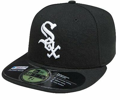 MLB Chicago White Sox Authentic On Field Game 59FIFTY Cap, Black, 7 1/4