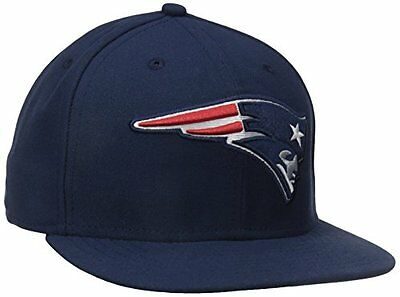 NFL New England Patriots On Field 5950 Game Cap, Navy, 7