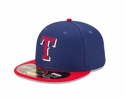 MLB Texas Rangers Diamond Era 59Fifty Baseball Cap, 7.875, B