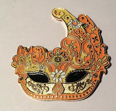 Venetian Mask V2 Geocoin with Matching Coin - *UNACTIVATED*