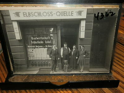 #4362,Storefront,Hamburg Germany,@1925,Elbschloss Quelle,Real Photo