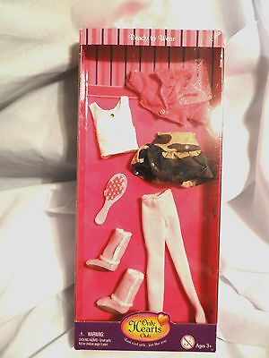 Beautiful Only Hearts Club Ready to Wear Clothing Set New In Pack