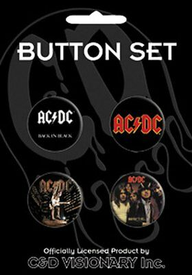 Licenses Products ACDC- Logo, Back in Black, Highway to Hell, Stiff Upper L