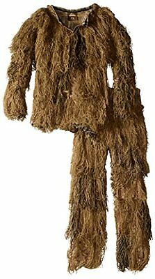Red Rock Outdoor Gear Men's Youth Ghillie Suit, Desert Camouflage, 14-16