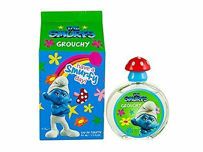 First American Brands The Smurfs Grouchy Eau De Toilette Spray for Kids, 1.