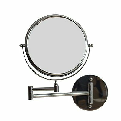 American Imaginations AI-645 8-in. W Round Chrome Wall Mount