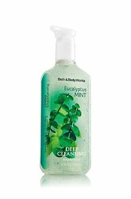 Bath & Body Works Eucalyptus Mint Deep Cleansing Hand Soap 8 oz (236 ML)