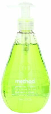 Method Products 00033 Hand Wash, Green Tea Aloe Liquid, 12 oz Bottle