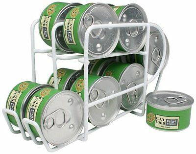 IRIS Wire Can Dispenser for Canned Cat Food Storage, 3-Ounce, 12 Cans