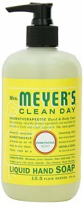 Mrs. Meyer's Clean Day Hand Soap Liquid, Honeysuckle, 12.5-Fluid Ounce Bott