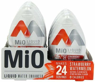 MiO Liquid Water Enhancer, Strawberry Watermelon, 1.62 Ounce (Pack of 12)
