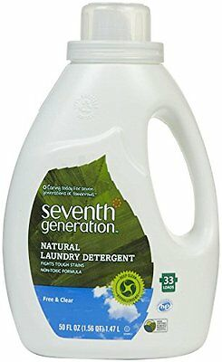 Seventh Generation Natural Laundry Detergent Free & Clear