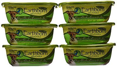 EARTHBORN HOLISTIC Chips Chicken Casserole Can Pet Food, 9-Ounce, set of 8