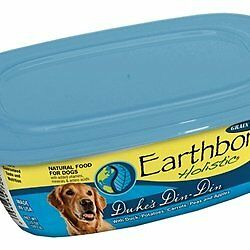 EARTHBORN HOLISTIC Dukes Din-Din Can Pet Food, 9-Ounce, Case of 8