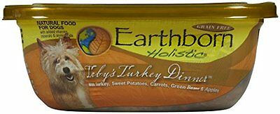 EARTHBORN HOLISTIC Toby's Turkey Dinner Can Pet Food, 9-Ounce, Case of 8