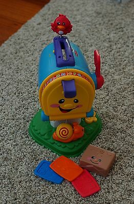 fisher  price interactive letterbox child baby toy educational