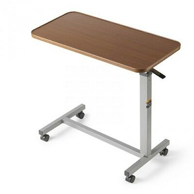 New Invacare Auto-Touch Overbed Table 6417