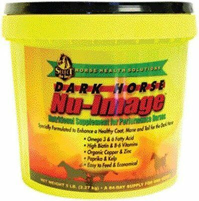 Dark Horse Nu-Image Hoof & Coat Support For Horses