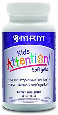 MRM Attention Softgels, 90-Count Bottle (Packing may vary)