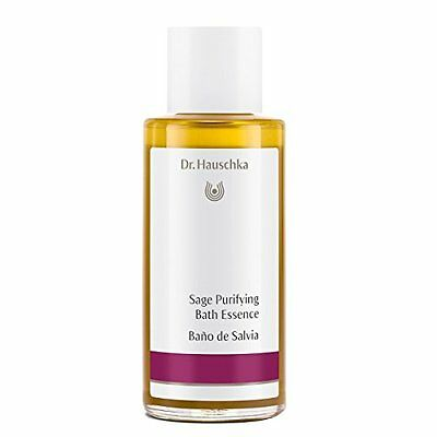 Dr. Hauschka Purifying Bath Essence, Sage, 3.4 Fluid Ounce
