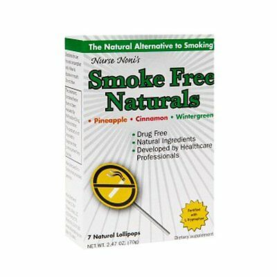 Three Lollies Smoke Free, Natural Pops, 7 Count