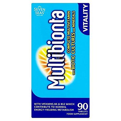 Multibion Probiotic Multivitamins 90 tablet