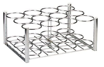 """Drive Medical Deluxe Oxygen Cylinder Rack, Chrome, 21"""" x 17"""" x 10"""""""