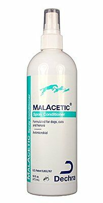 DECHRA DermaPet Malacetic Spray Conditioner, 16 oz.