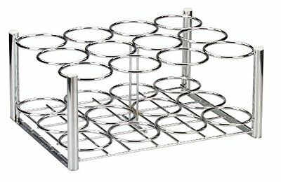 """Drive Medical Deluxe Oxygen Cylinder Rack, Chrome, 16"""" x 10. 5"""" x 9. 5"""""""
