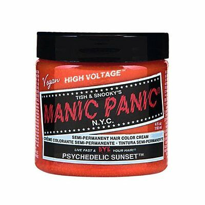 Manic Panic Semi-Permanent Color Cream Psychedelic Sunset 4oz