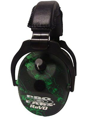 Pro Ears ReVO Electronic Ear Muffs, Zombie