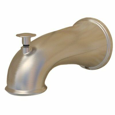 Danco 10316 Decorative 6-Inch Tub Spout, Brushed Nickel