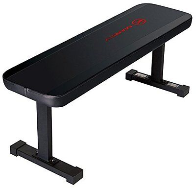 Marcy Flat Utility Weight Bench, Black
