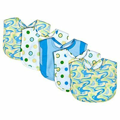 Trend Lab Dr. Seuss 5 Piece Bib Set, Blue
